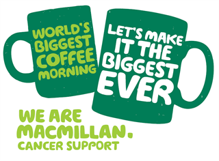 Newlands MACMILLAN Coffee Morning Saturday 7th October