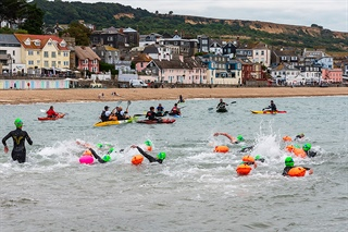 Lyme Regis to Charmouth Challenge
