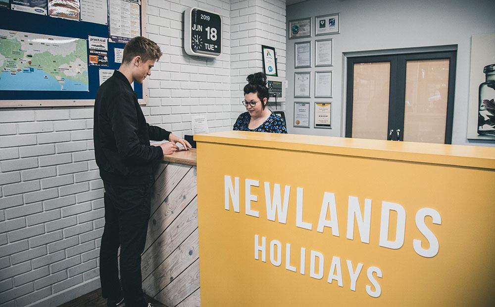 newlands reception