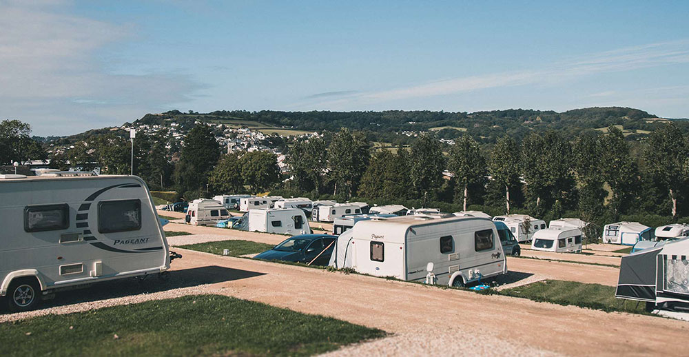 touring pitches at newlands in dorset