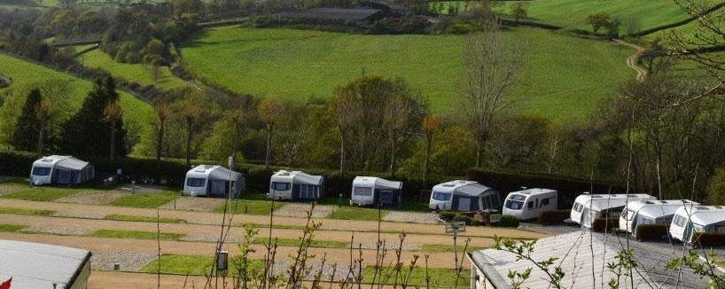 Caravan Holiday Park in Dorset